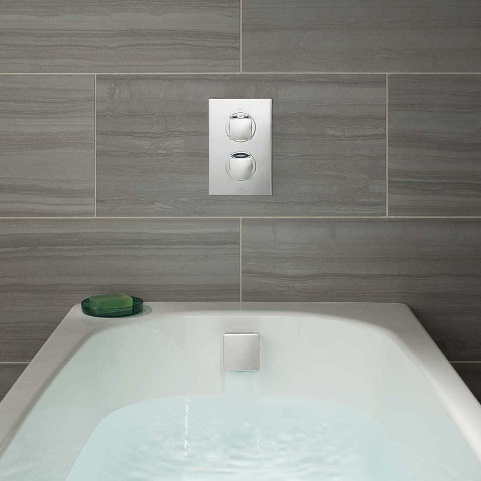 touch control bath mixer tap